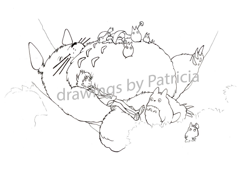 Pin On Totoro [ 1057 x 1500 Pixel ]