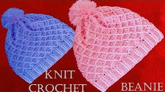 Como tejer gorro boina a Crochet o ganchillo en punto relieve - YouTube cc5db394cab
