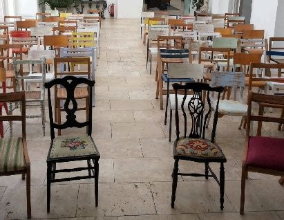 Mix And Mismatch Wedding Furniture Vintage Chair Hire