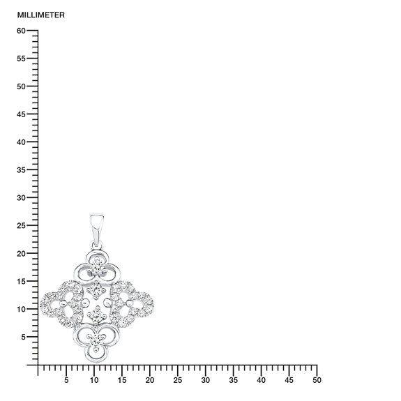 s.Oliver Damen-Kette mit Anhänger Blumen 925 Silber rhodiniert Zirkonia weiß 45 cm - 523431: Amazon.de: Schmuck