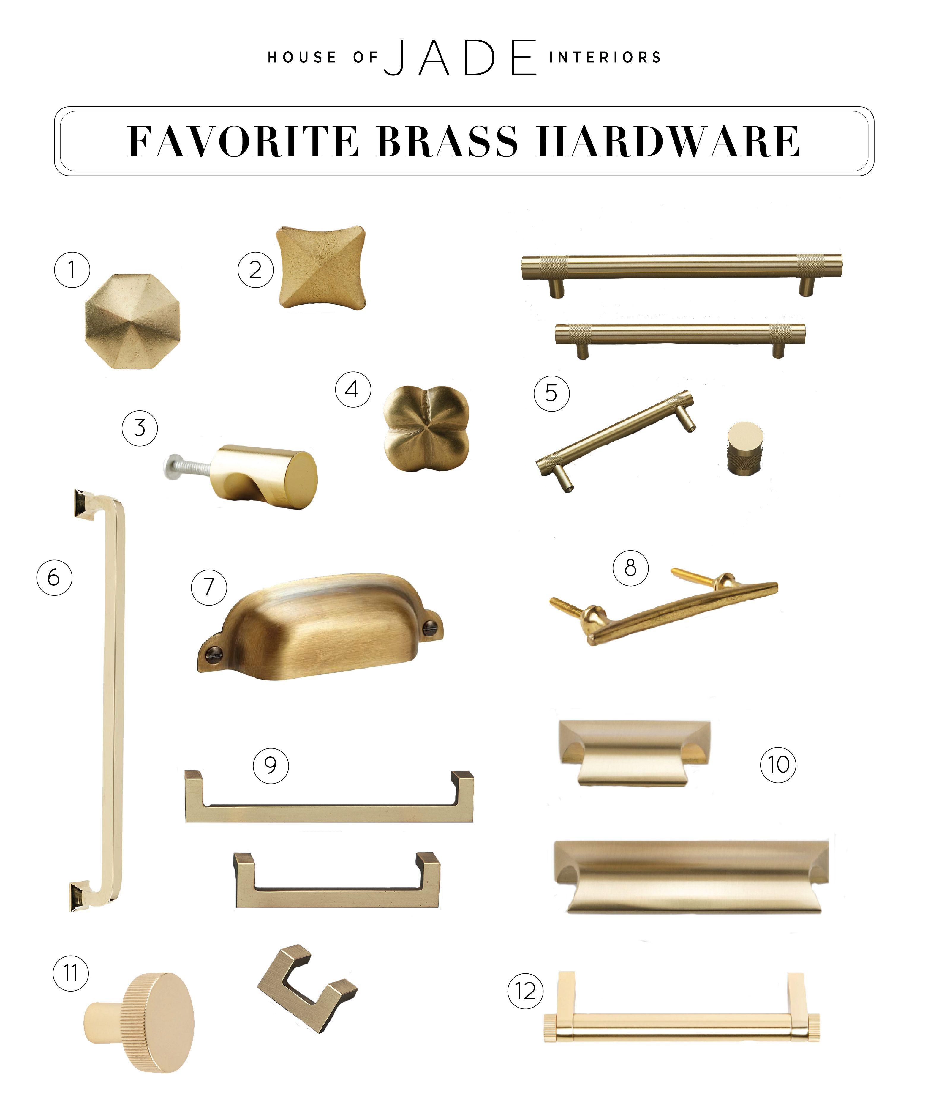 Design Tip Brass Hardware Brass Kitchen Hardware Home Hardware