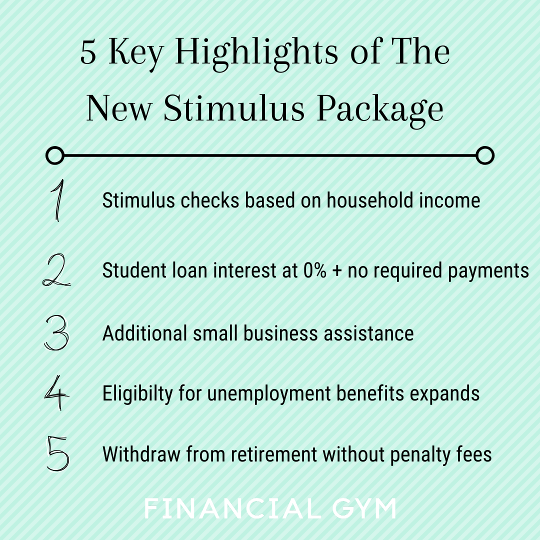 [+] What Is The New Stimulus Package