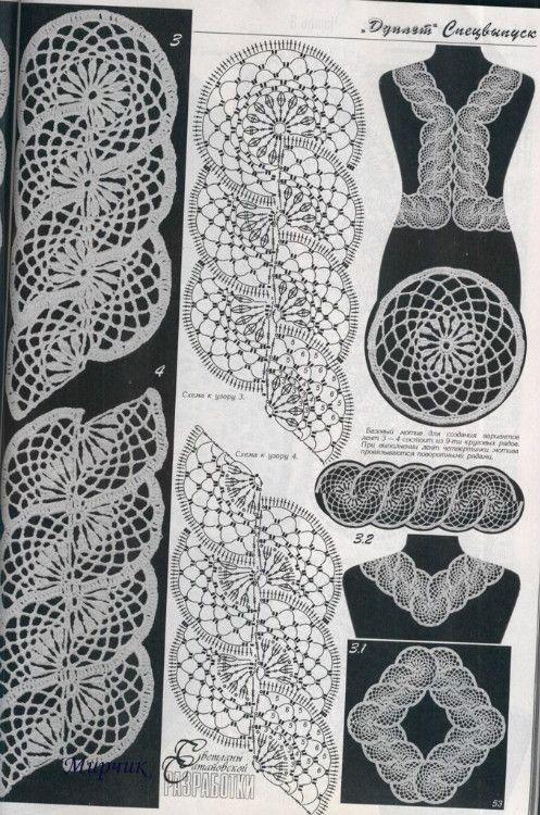 Pin de Marielady mamá inspirada en crochet, más crochet | Pinterest ...
