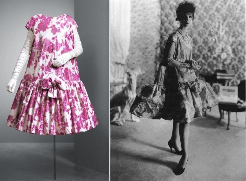 1958 balenciaga baby doll   Doll dress