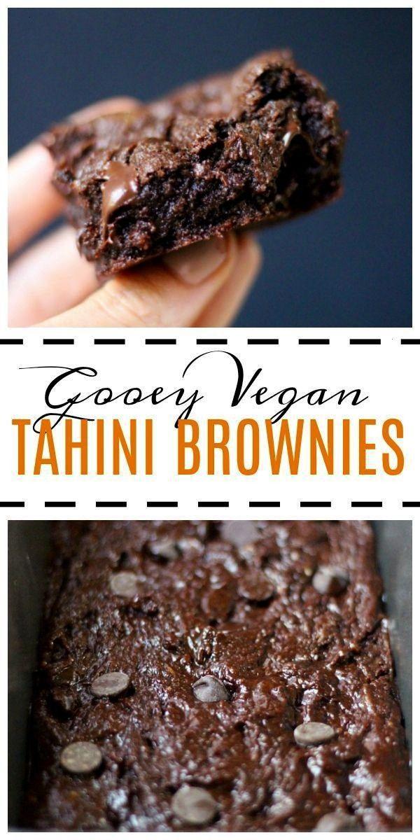 Vegan Tahini Brownies Easy Vegan Tahini s brownie definition - BrownieEasy Vegan Tahini s brownie