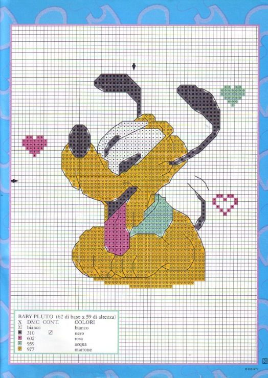Gallery.ru / Фото #20 - Disney a punto croce Nº04 - Chispitas