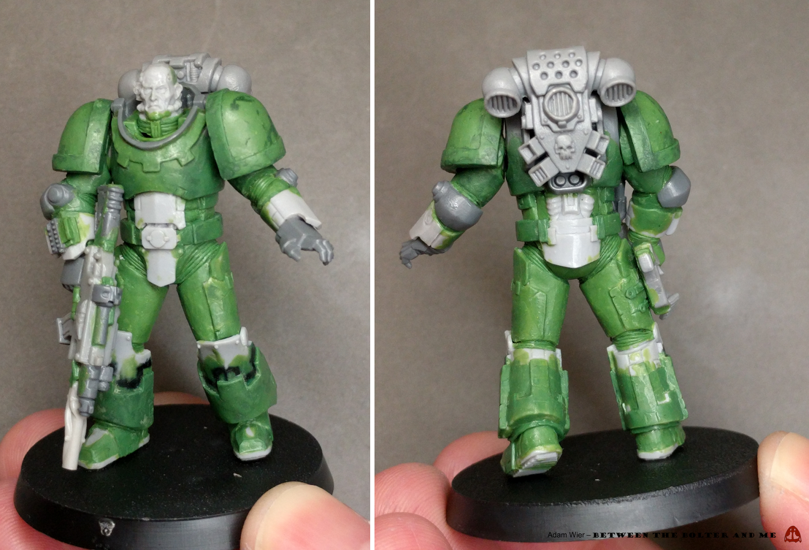 By the manner of their death we shall know them. Space Marine ...