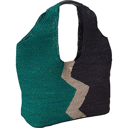 Helen Kaminski Pia Geo L Jade Melange/Eclipse Melange/Navy - Helen Kaminski Designer Handbags