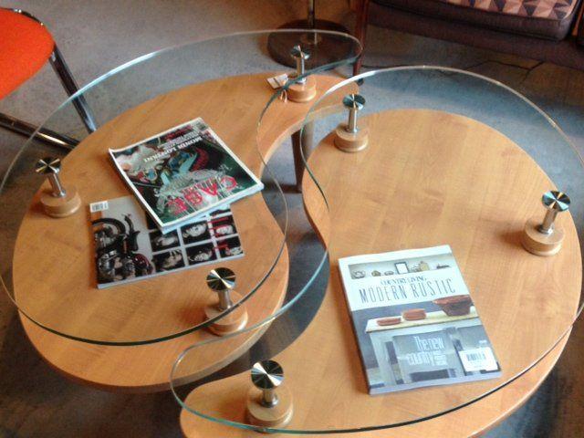 Yin Yang Glass Coffee Table 4
