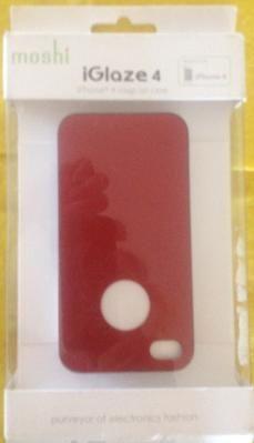 iPhone 4/4s Snap on Case iGlaze 4 by Moshi FREE SHIPPING!