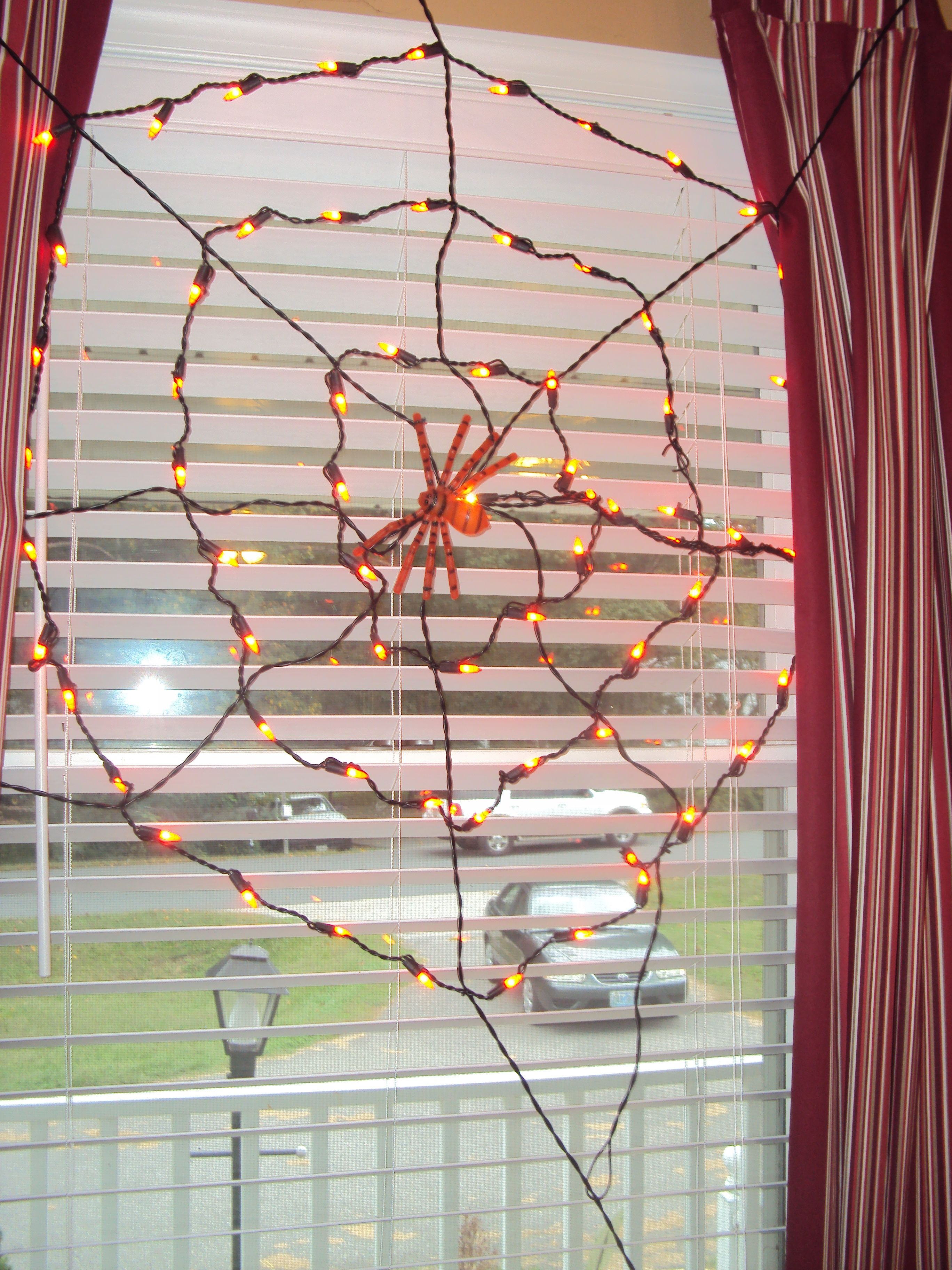 light up spiderweb from rite aid