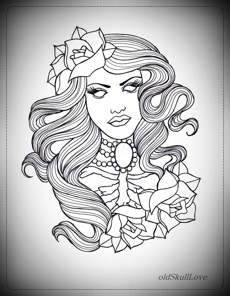 Tattoo Outlines For Girls: Pin By Kwame Hayes On Flashy To Classy