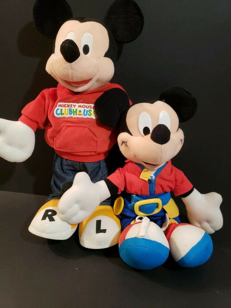 Mickey Mouse Mattel Teach Dress Me Learning & Learn to ...