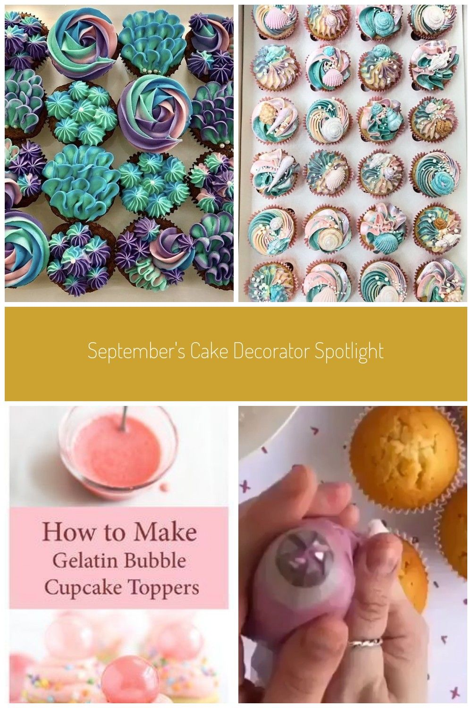 Mermaid cupcakes by septembers cakes www