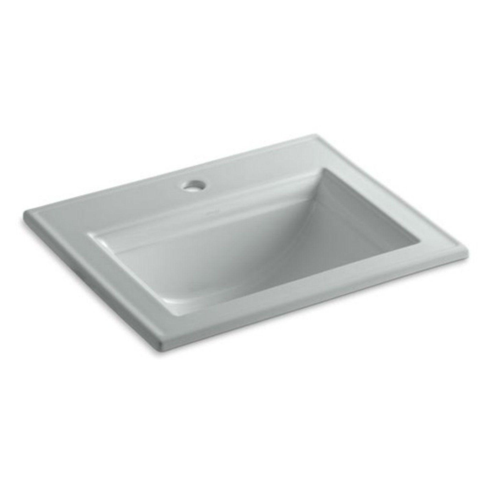 Kohler Memoirs Stately Drop In Bathroom Sink Drop In Bathroom