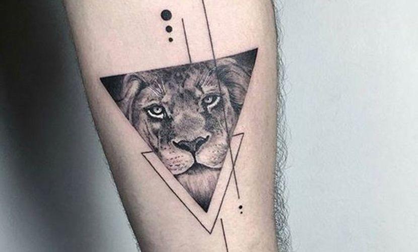 Tatuajes De Leones En El Brazo Recopilacion De Disenos Tatuajes Leones Tatuaje Geometrico De Leon Tatuaje Leon Pequeno