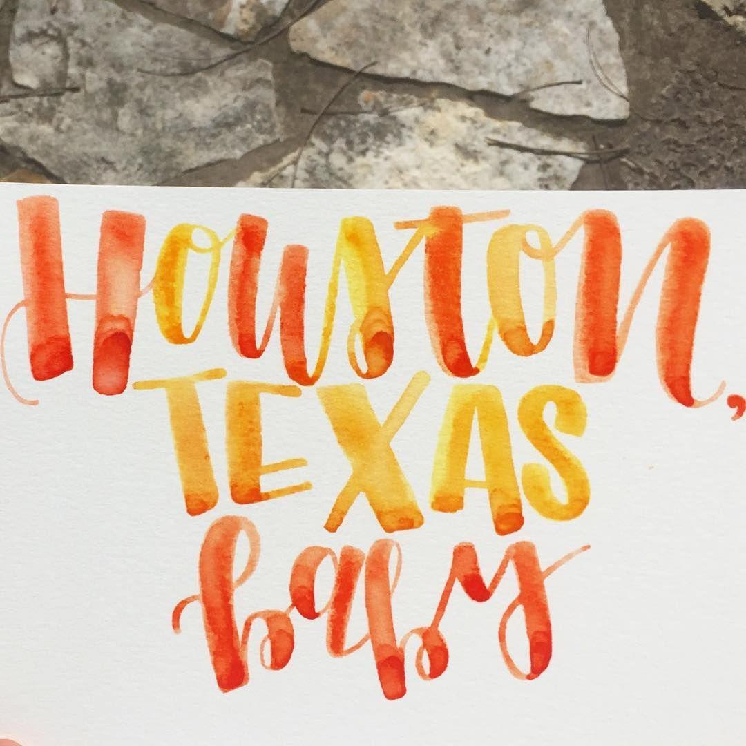"""Day 3. My City  #togetherweletter  #hometown #Houston #clutchcity #htown #hou #houtx  #houstontexas #texas #theh #htownvicious #handlettering #screwston…"""