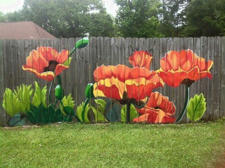 Discover pictures of garden fence ideas only in ke