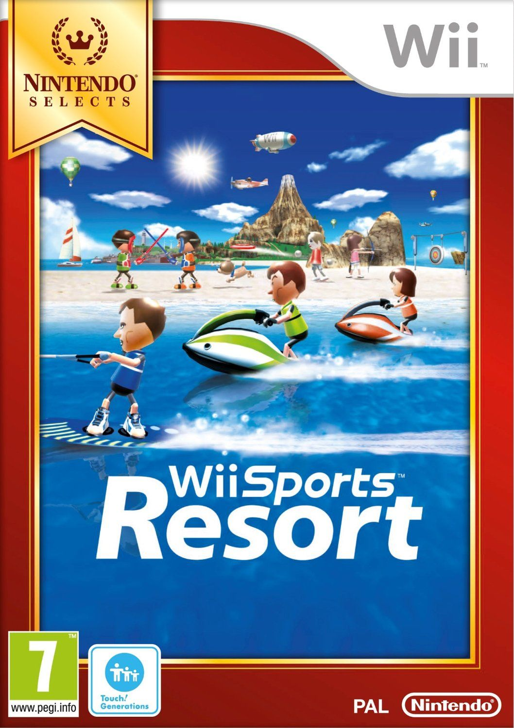 Wii Sports Resort Wii Nintendo game editors choice Jeux