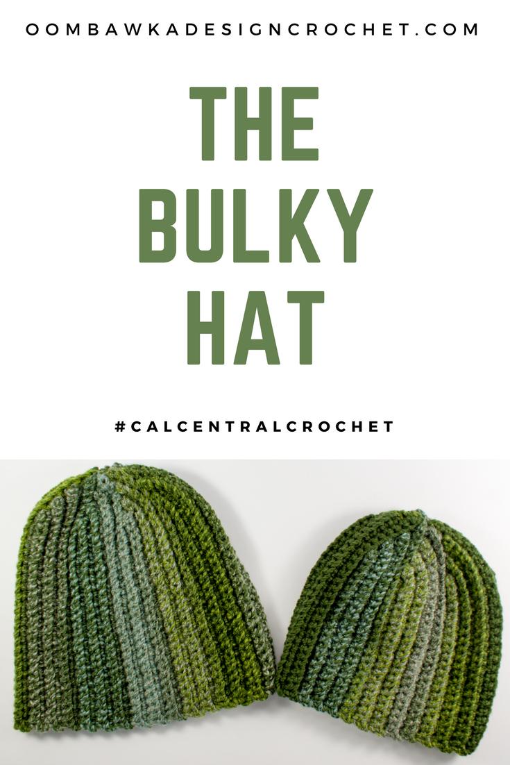 The Bulky Hat Pattern #CALCentralCrochet | Crocheting Ideas | Pinterest