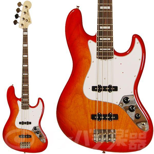 Warwick Bass Guitar Wallpaper: Fender Japan Jazz Bass JB75 Light Amber Sunburst/R (LAS/R