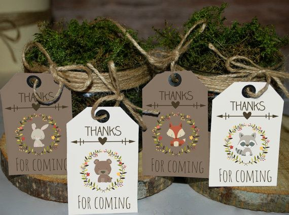 Woodland favor tags woodland favors woodland baby shower tags woodland favor tags woodland favors woodland baby shower tags printable favor tags thank you tags woodland tags negle Image collections