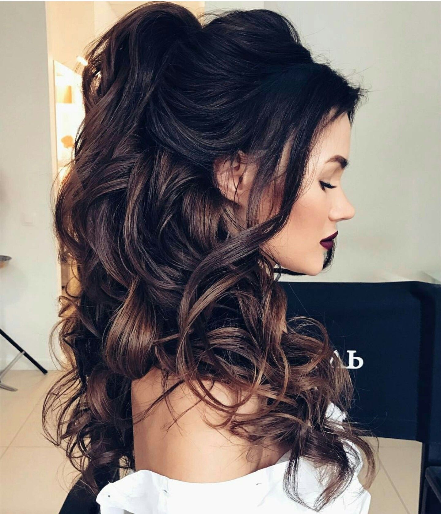 Pin by alexis terwilliger on hairstyles pinterest dark hair