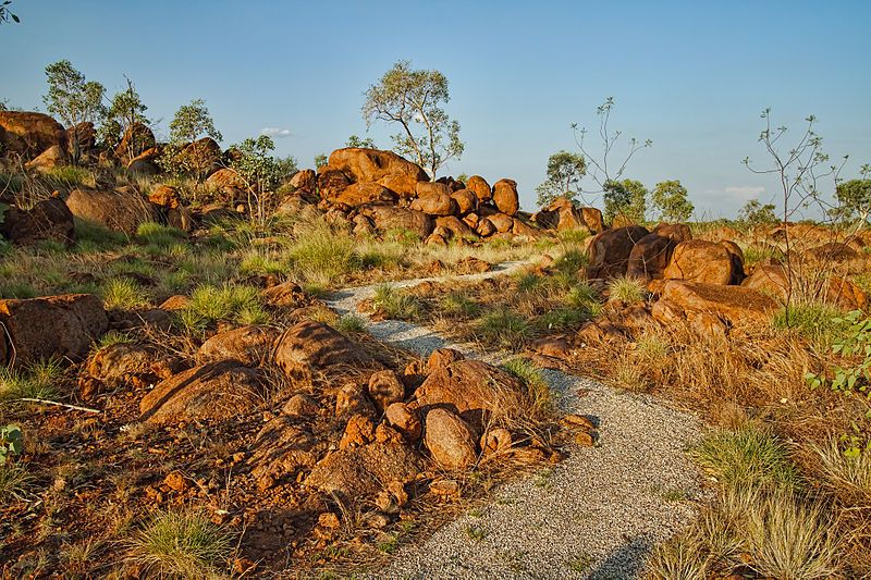 The Devil's Pebbles near Tennant Creek, Northern Territory (Australia)