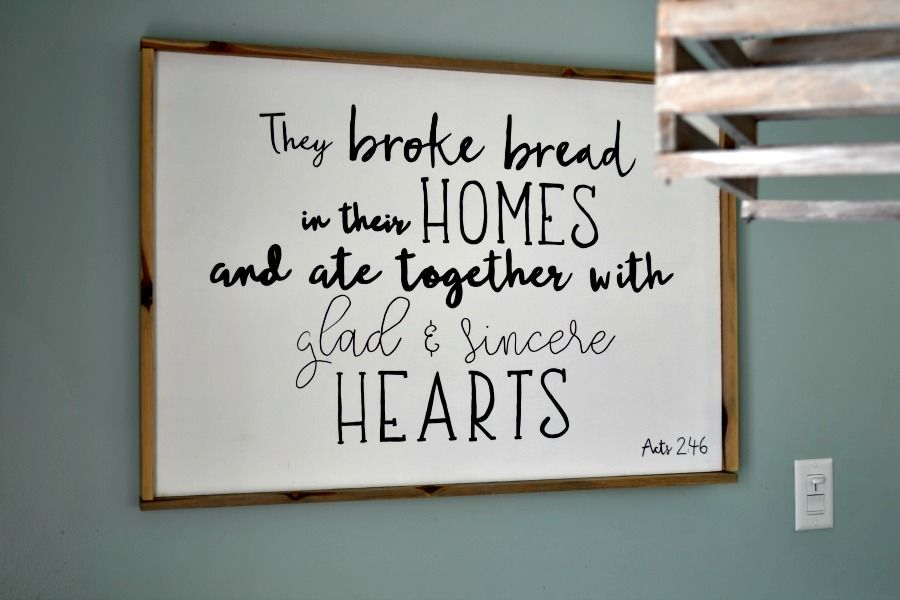 How to Make a Wood Sign with a Custom Quote and Wood Frame | Wood ...
