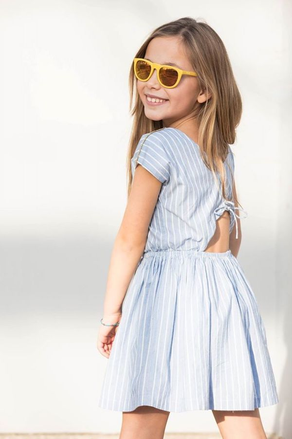 4c00d362426c Yellow Pelota ropa de verano para niños