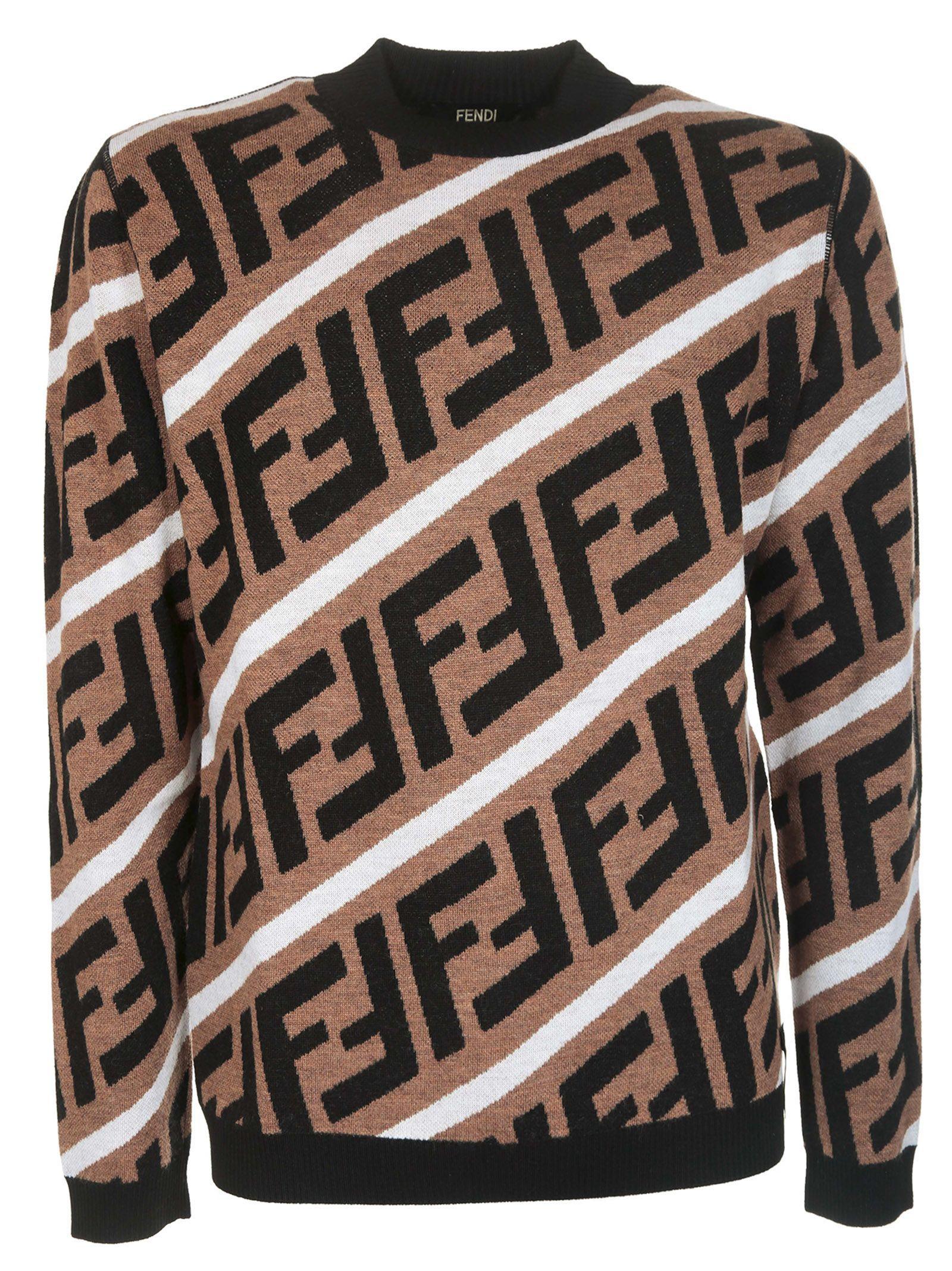 88287444 FENDI LOGO STRIPED JUMPER. #fendi #cloth | Fendi in 2019 | Fendi ...