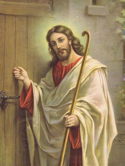 artwork with jesus christ jesus knocking at the door wallpaper