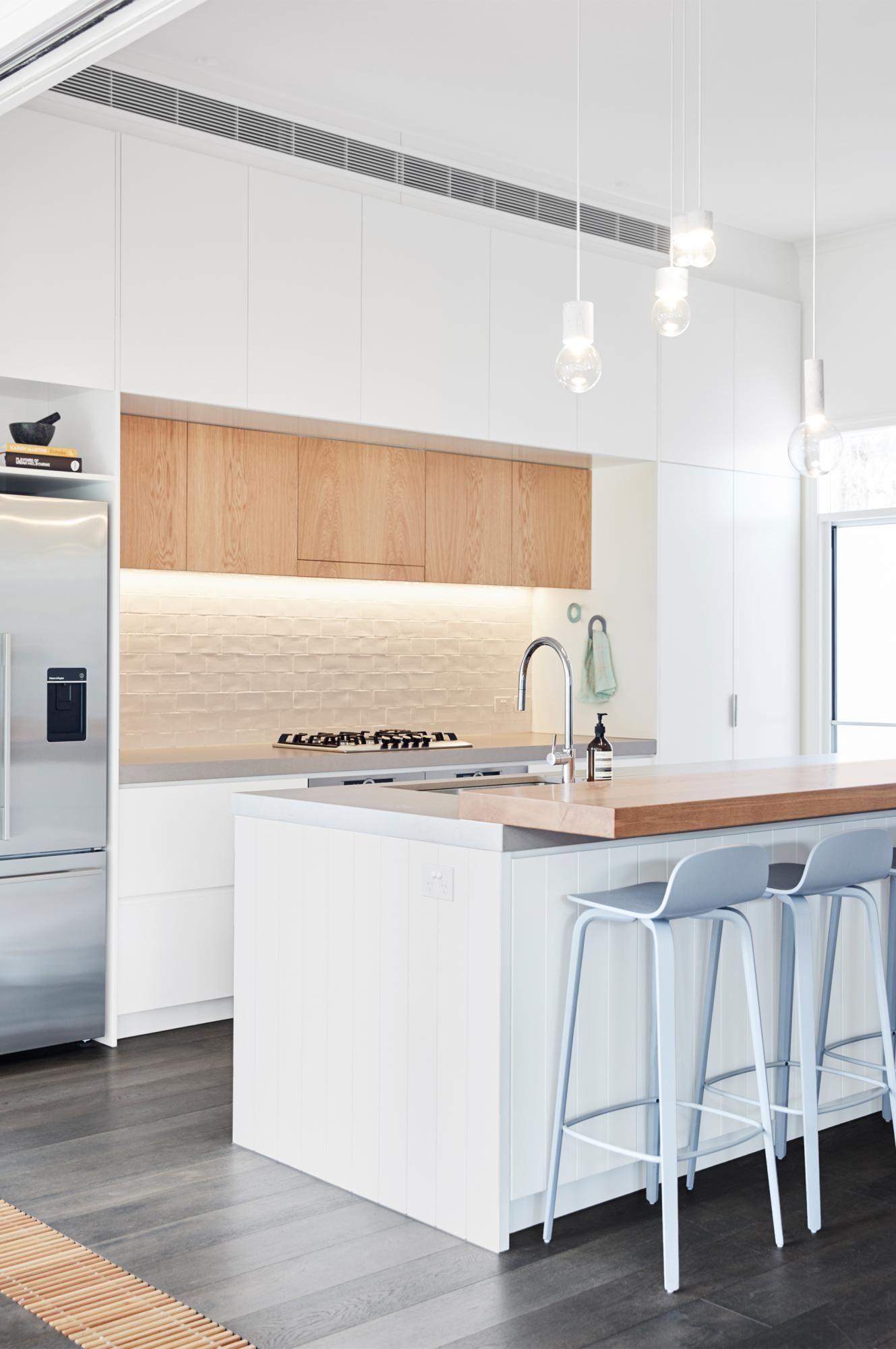 ambos sobre todo piso muebles blancos + madera | hector | Pinterest ...