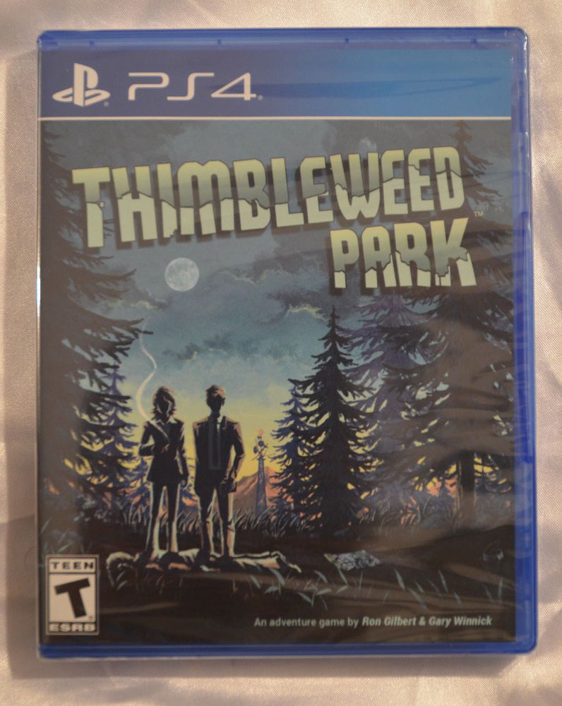 Thimbleweed Park Sony Playstation 4 New Limited Run Games