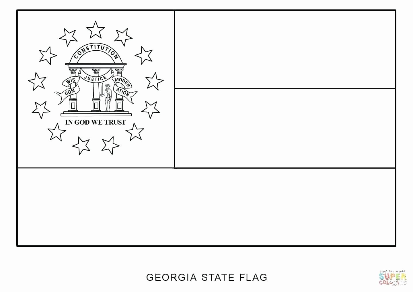 Ohio Flag Coloring Page Beautiful State Flags Coloring
