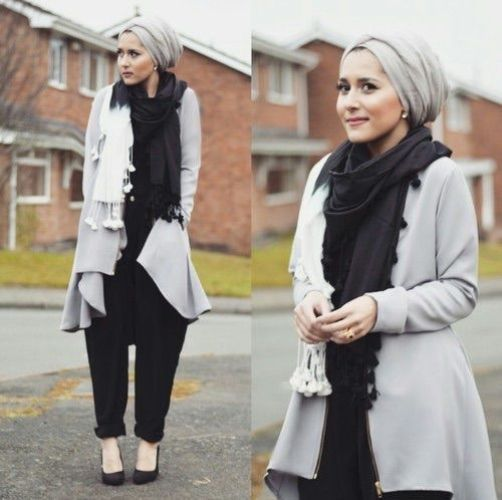 classy hijab outfit