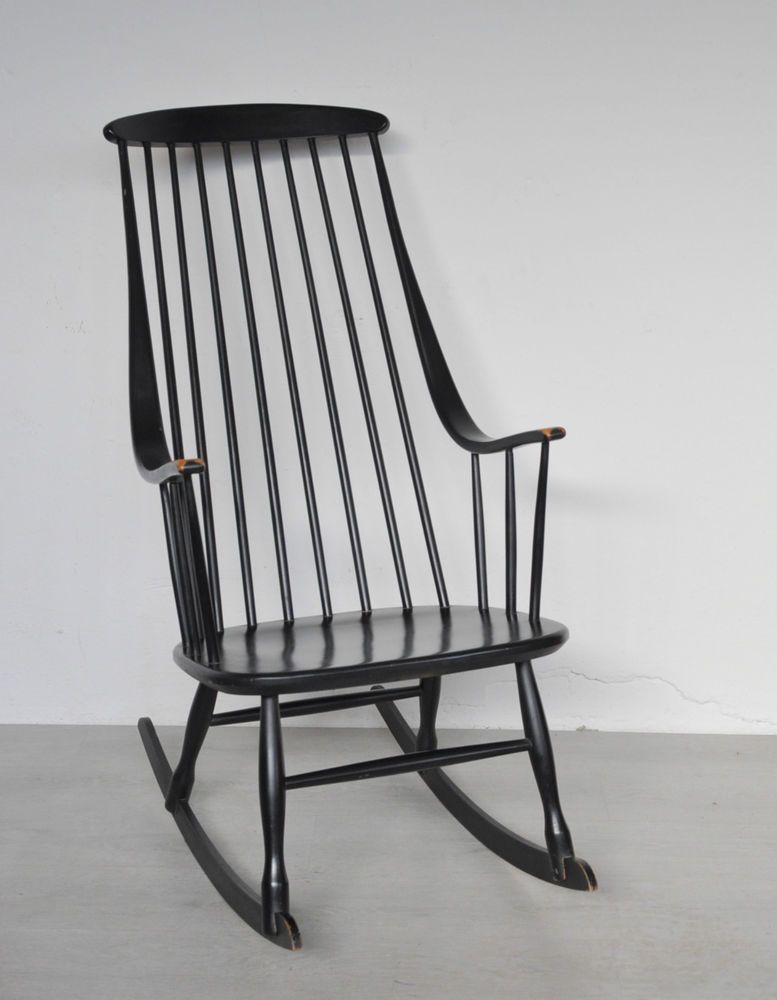 High Quality Schaukelstuhl Lena Larsson Nesto Rocking Chair Bohem 50er 60er TAPIOVAARA  Style