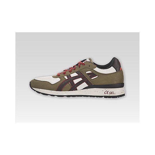 Asics GT , India Mens Asics GT-II Olive / Dark Brown Color Shoes ,... via Polyvore
