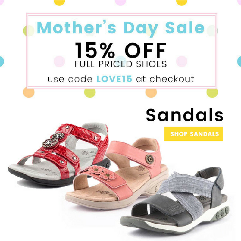 1d06a989f20b We re celebrating mom this weekend and we hope you are too! Shop our  Mother s Day Sale with code Love15 at checkout for 15% off all full priced  shoes