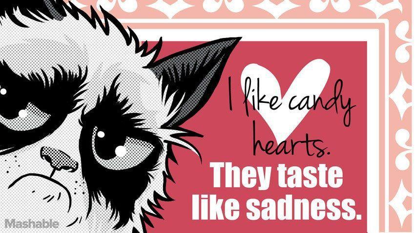 18 grumpy cat valentines for your crabby companion - Grumpy Cat Valentine