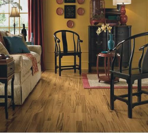 """Cheap Wood Flooring Atlanta: Autumn Forest Series 12mm Thick 5 1/2"""" Wide Rustic Olive"""