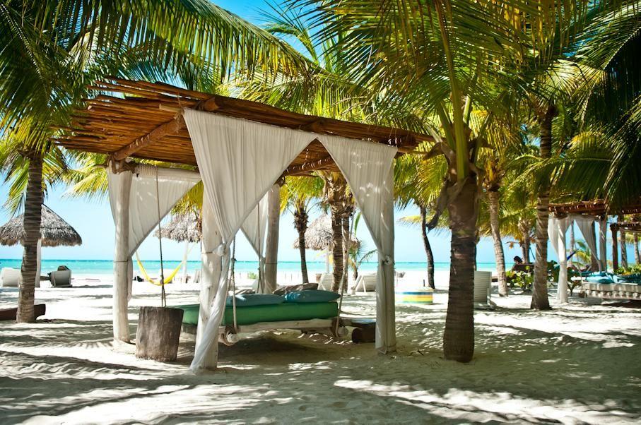 Beach At Casa Las Tortugas Isla Holbox Mexico