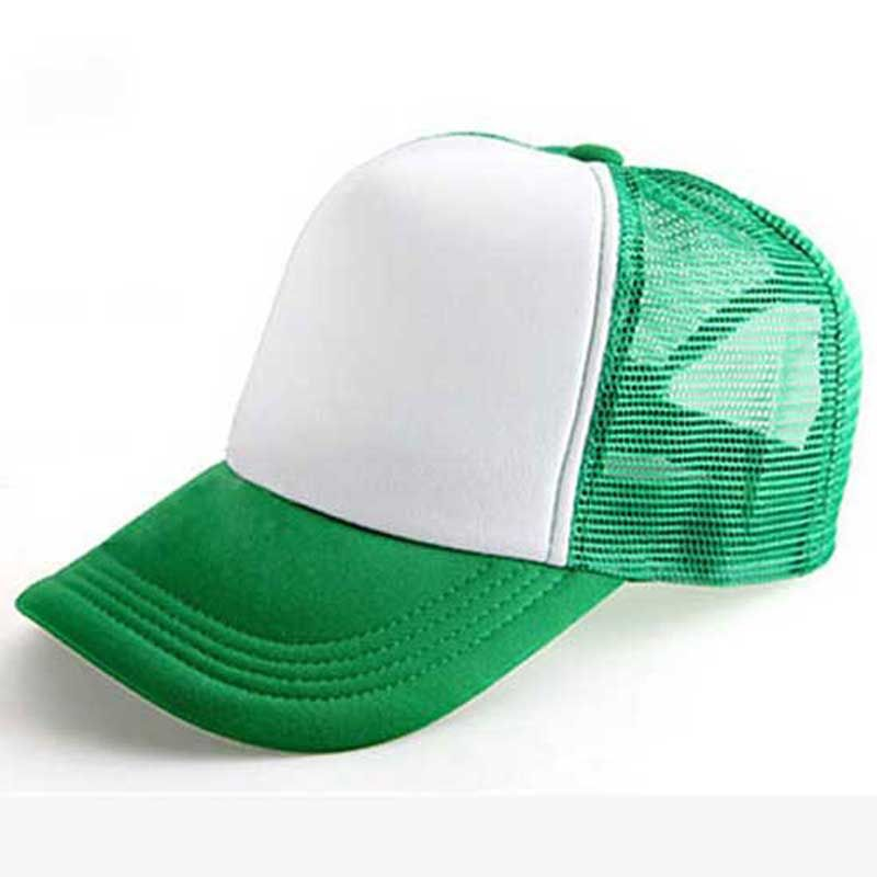 Wholesale Lot 12 Trucker Hats GREEN Mesh Adjustable Snapback CAPS blank NEW