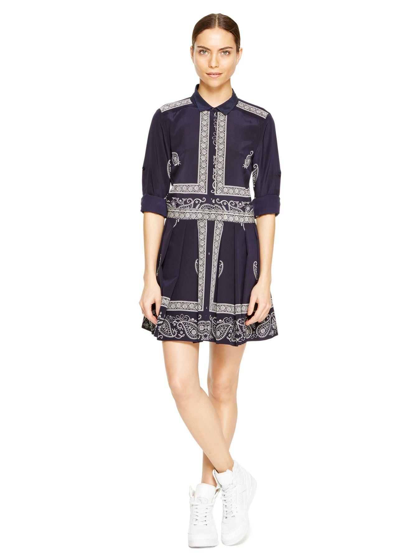 Bandana Print Dress - DKNY