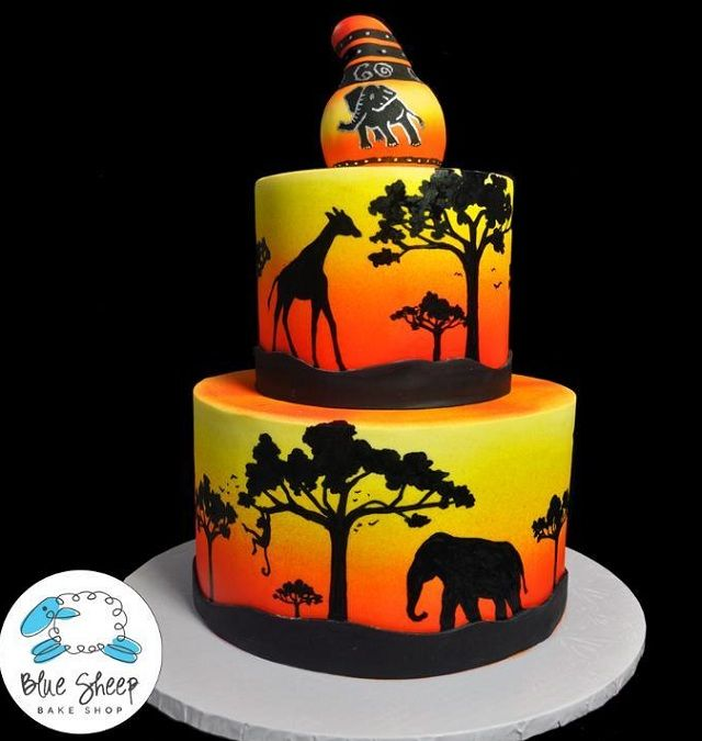 Best 25 hand painted cakes ideas on pinterest cakes for Animal cake decoration