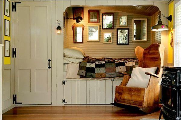#Schlafzimmer 2018 35 Erstaunliche Kleine Raum Alkoven Betten #Schlafzimmer  Ideen #bedroomideas #Dekoration Ideen #Schlafzimmerbeleuchtung #bedroms#35  ...