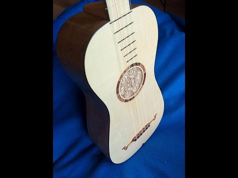 2nd baroque guitar build