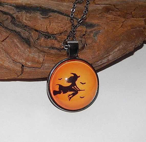 Witch pendant necklake keychain flying witch jewelry autumn boo witch pendant necklake keychain flying witch jewelry aloadofball Gallery