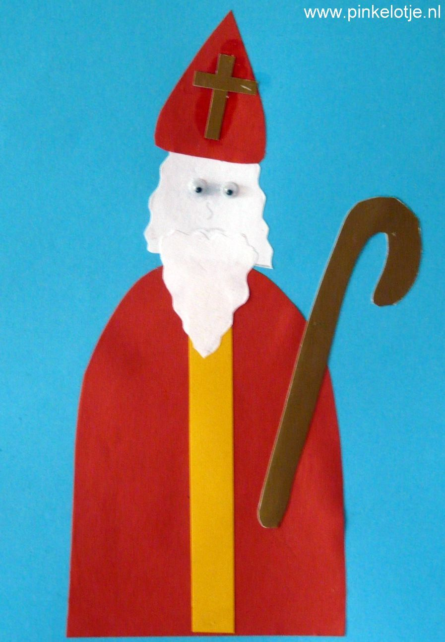 Kleine Sinterklaas #sinterklaasknutselen
