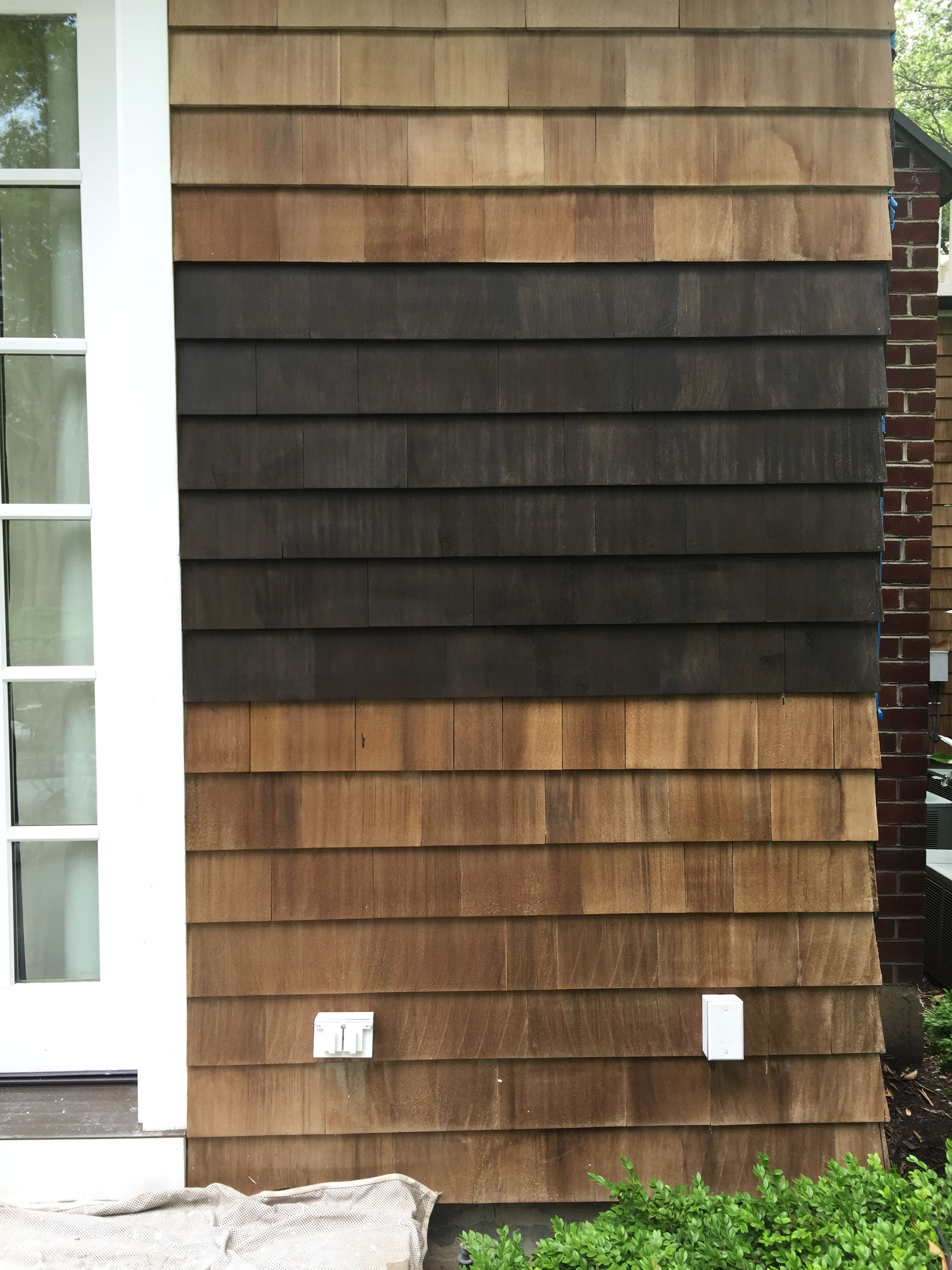 Sherwin Williams WoodScapes exterior house stain - semi ...